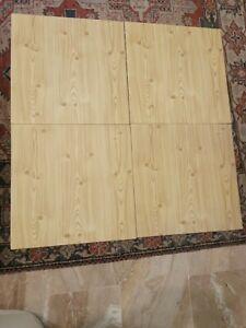 80 Pannelli polistirolo 50x50 effetto perline Legno isolamento soffitto bello