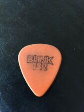 BLINK 182 - TOM DeLONGE STAGE USED GUITAR PICK RARE!!! From 6-15-2002 Tour!