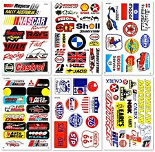Cars Motorsport Nascar Truck Racing D6093 Pack 6 Graphic Vinyl Decals Stickers