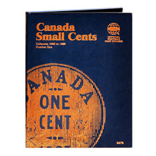 """""""WHITMAN"""" CANADA SMALL CENTS 1920-1988 FOLDER NEW WITH FREE SHIPPING!!"""
