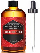 Pure Body Naturals Rosehip Seed Oil