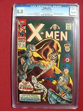 The X-Men #33 CGC 8.0 JUGGERNAUT COVER
