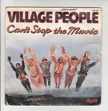 "VILLAGE PEOPLE Vinyl 45T 7"" CAN'T STOP THE MUSIC - MILKSHAKE Hollywood BARCLAY"
