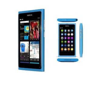 "Blue Original Unlocked Wifi 16GB 8MP 3.9"" 3G  NFC Smartphone Nokia Lumia N9"