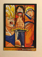 Dragon Ball Z / One Piece / Naruto Weekly Jump Illust Collection Promo EX 3