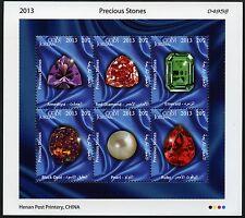 Jordanien Jordan 2013 Edelsteine Precious Stones Opal Diamant Perle 2253-258 MNH