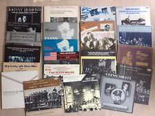 Glenn Miller & Orchestra Record Collection (1940-1944 Shows) Rare 22 LP Bundle
