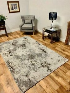 Extra Large Big XL Modern Cheap Silver Taupe Rug Silk Mat Cheapest Rugs Online