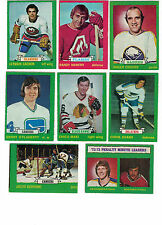 1973-74 OPC NHL Hockey Lot - Pick only cards that you need - $2.25 each