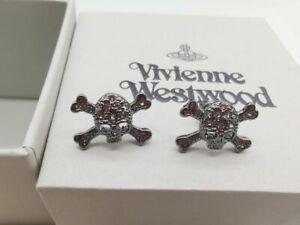 Vivienne Westwood  Skull earrings