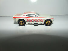 1977 Hotwheels Ramchargers Challenger Funny Car WHITE RED STRIPES HW Hot Wheels