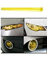 "12"" x 48"" 3K Gold Yellow Vinyl Film Tint Wrap For Headlights Fog Lights Lamps"