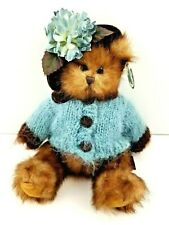 """Bearington Collection Deedee Bear 10"""" Collectible Series Limited #179859 w/ Tags"""