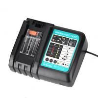 DC18RC Fast Battery Charger BL1830 BL1840 BL1850 for 14.4V 18V Makita UK Plug
