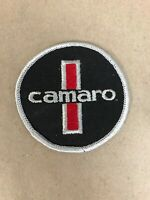 "Vtg Chevrolet Camaro Embroidered Sew On Patch 3"" Auto Racing Badge SS Hot Rod"