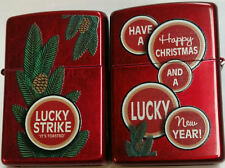 Zippo Lucky Strike Merry Christmas and A Lucky New Year 31 of 50 Ultra RARE