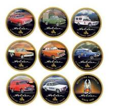 Holden Workhorses 9 x Penny Coin Collection finished in 24-carat gold 2018