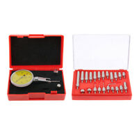 0-0.8mm Dial Test Indicator Kit with 22pcs Point Set Metalworking Inspection