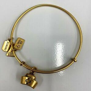 Wind & Fire Nurse's Cap Goldtone Charm Bangle