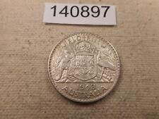 1943 Australia Florin - Very Nice Collector Raw Album Grade Coin - # 140897