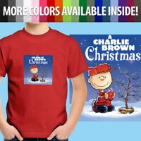 Charlie Brown Christmas Tree Peanuts Classic Comic Toddler Kid Tee Youth T-Shirt