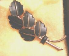 Brosche - Anstecknadel 5 Blätter