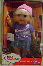 FISHER PRICE LITTLE MOMMY SWEET AS ME BORN TO ROCK GIRL *NEW*