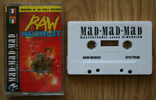 Raw Recruit Sinclair ZX Spectrum 48K/128K Game *NEW*