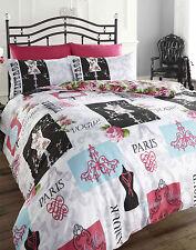Double Size Duvet Set Quilt cover & 2 Pillowcases Fashionista