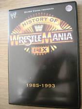 DVD HISTORY OF WRESTLEMANIA I-IX WRESTLING AUDIO ITA