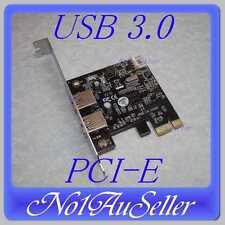 NEC 2 Port USB 3.0 HUB PCI-E PCI Express Card Windows 7