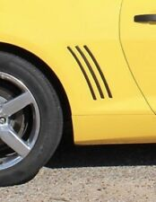 Chevrolet Camaro SS RS LS Side Vent Gill Inserts Vinyl Decal Stripes 2010-2015