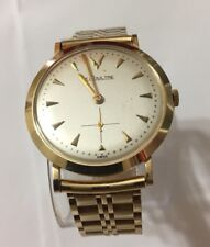 Le Coultre 14K Solid Gold Mens Watch (Vintage)