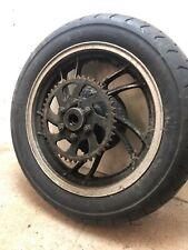 Yamaha Xj550 Maxim Xj 550 Rear Wheel  & Tyre 120/90/16 Sprocket Carrier Hub