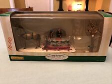Lemax Table Accent ~ Maple Syrup Sled ~ /In Box/ Horse pulling Sled