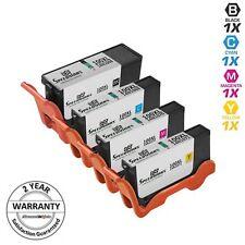4pk BLACK & COLOR set 100XL 100 XL Ink Cartridge for Lexmark Genesis S815 S816