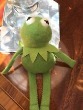 Vintage Kermit The Frog Muppet 9.5 Beanbag Toy Fisher Price 864