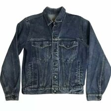 Young Lion Boys Blue Jean Jacket Size 16 Snap Front Classic Timeless