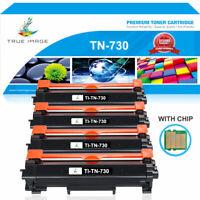 4x Toner Compatible with Brother MFC-L2750DW HL-L2730DW HL-L2350DW L2710DW TN730