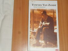 TOWNES VAN ZANDT TEXAS TROUBADOUR 4 x CD Hard Back Book LONG BOX SET Charly 2001