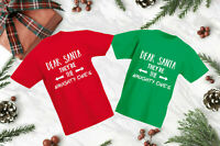 Dear Santa They're The Naughty Ones T-Shirt, Christmas Xmas Kids & Adults Top