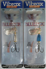 2 - BLUE FOX - Classic Vibrax Spinners Size 1 (1/8 oz.)