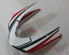 Front Nose Cowl Upper Fairing For DUCATI 848 1098 1198 R/S White Red Green Line