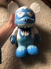 "Vinylmation Disney Yeti Abominable Snowman Plush Doll Soft Vinyl 10"""