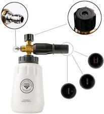 "SGCB Pro Foamer Cannon Snow Lance Foam Blaster Pressure Washer 1/4"" US Connector"
