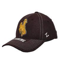 NCAA Zephyr Wyoming Cowboys Burgundy Flex Fit Small Hat Cap Stretch Curved Bill