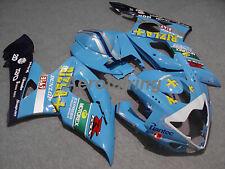 Dipinto Carenatura Carrozzeria Corpo Set ai per Suzuki GSXR 1000 K5 2005 2006