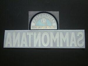 "PATCH SPONSOR ufficiale ""SAMMONTANA"" LEXTRA EMPOLI 1997-1998"