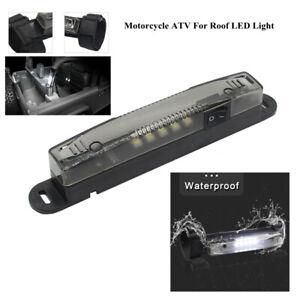 UTV ATV Motorcycle License Plate Bumper Light Mount Bracket LED Work Holder New