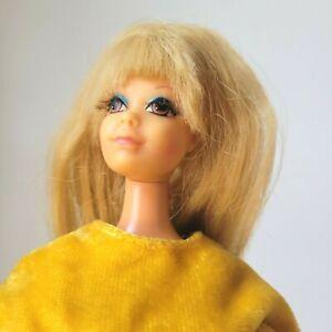 Vintage Barbie PJ TNT Body Mod Era in Mod Clone Dress